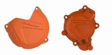 New KTM SX 125 150 16-18 XC-W 125 17 18 Clutch & Ignition Cover Protector Orange